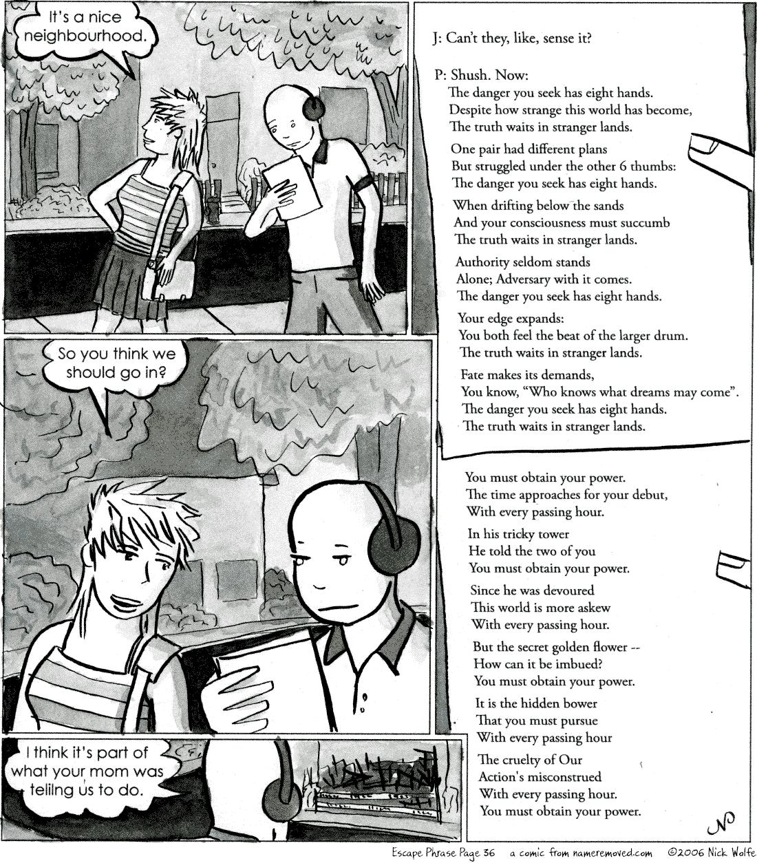 Escape Phrase 36