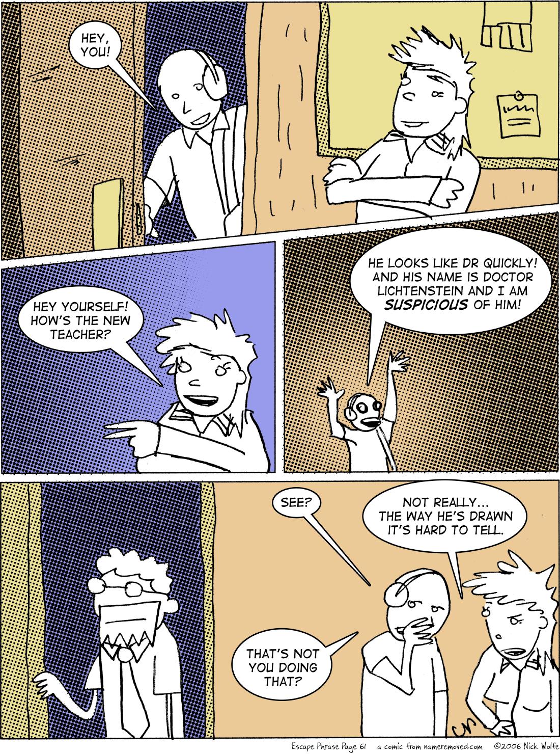 Escape Phrase 61