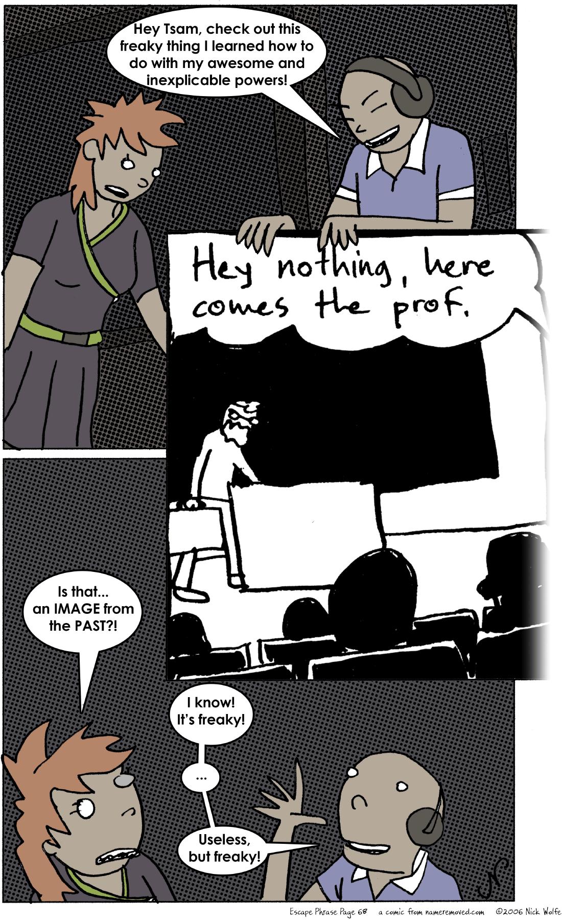 Escape Phrase 68