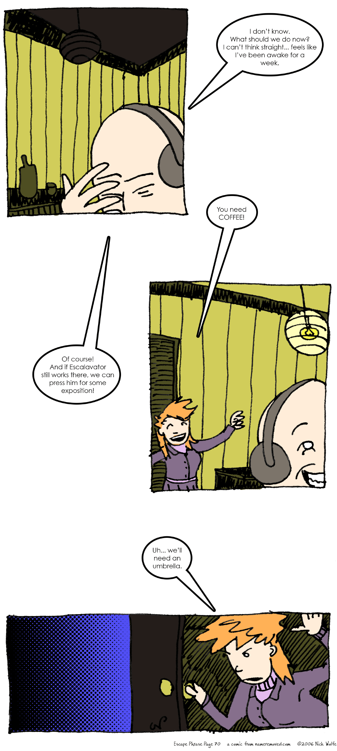 Escape Phrase 70