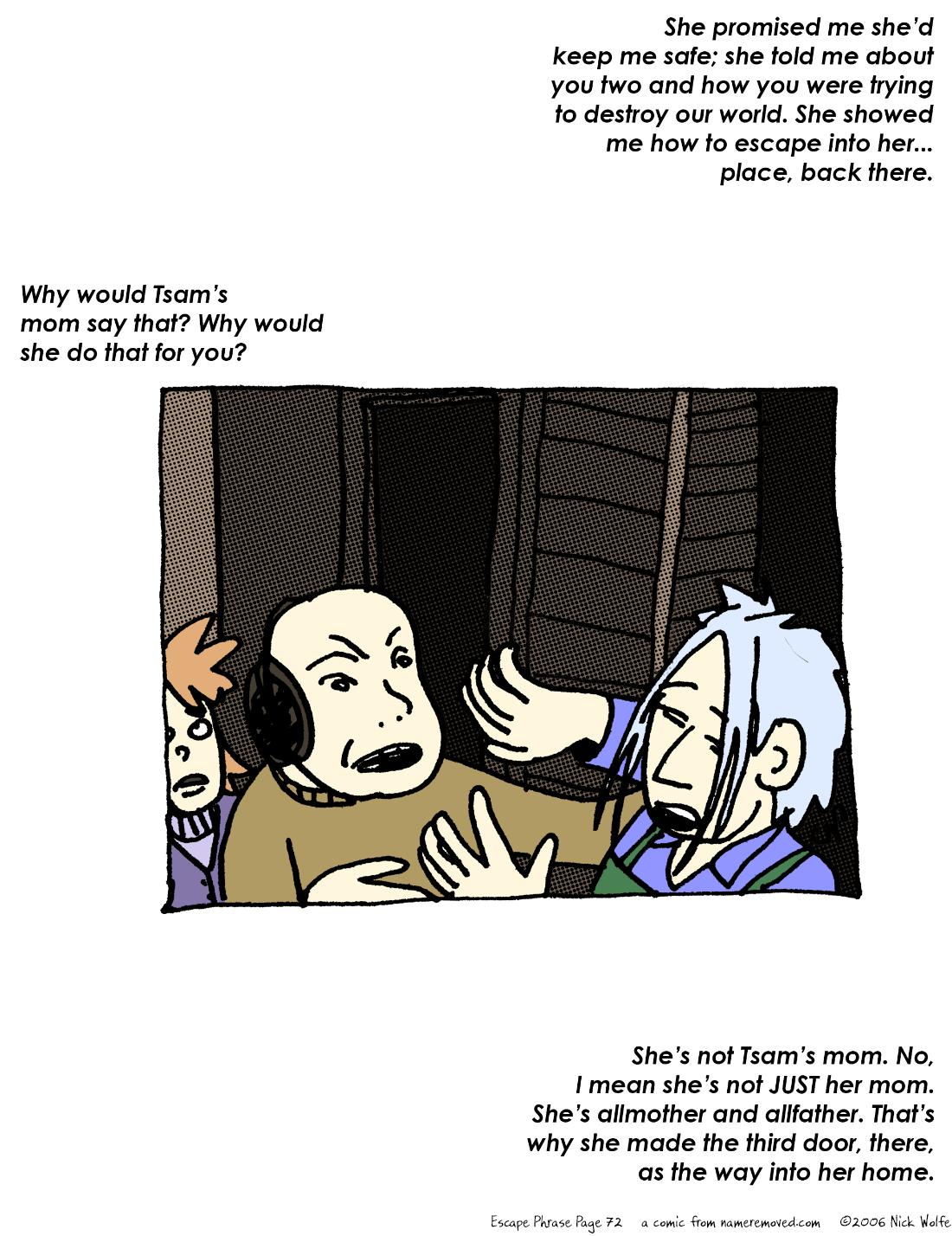 Escape Phrase 72