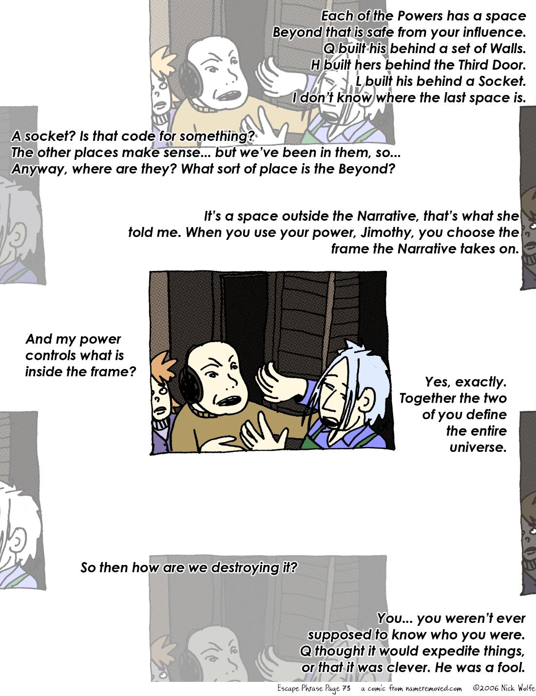 Escape Phrase 73