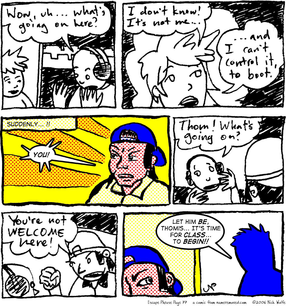 Escape Phrase 77