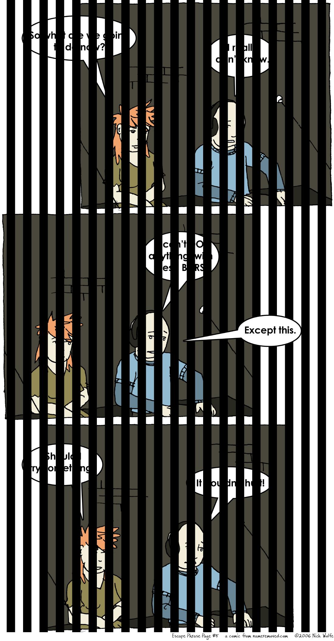 Escape Phrase 85