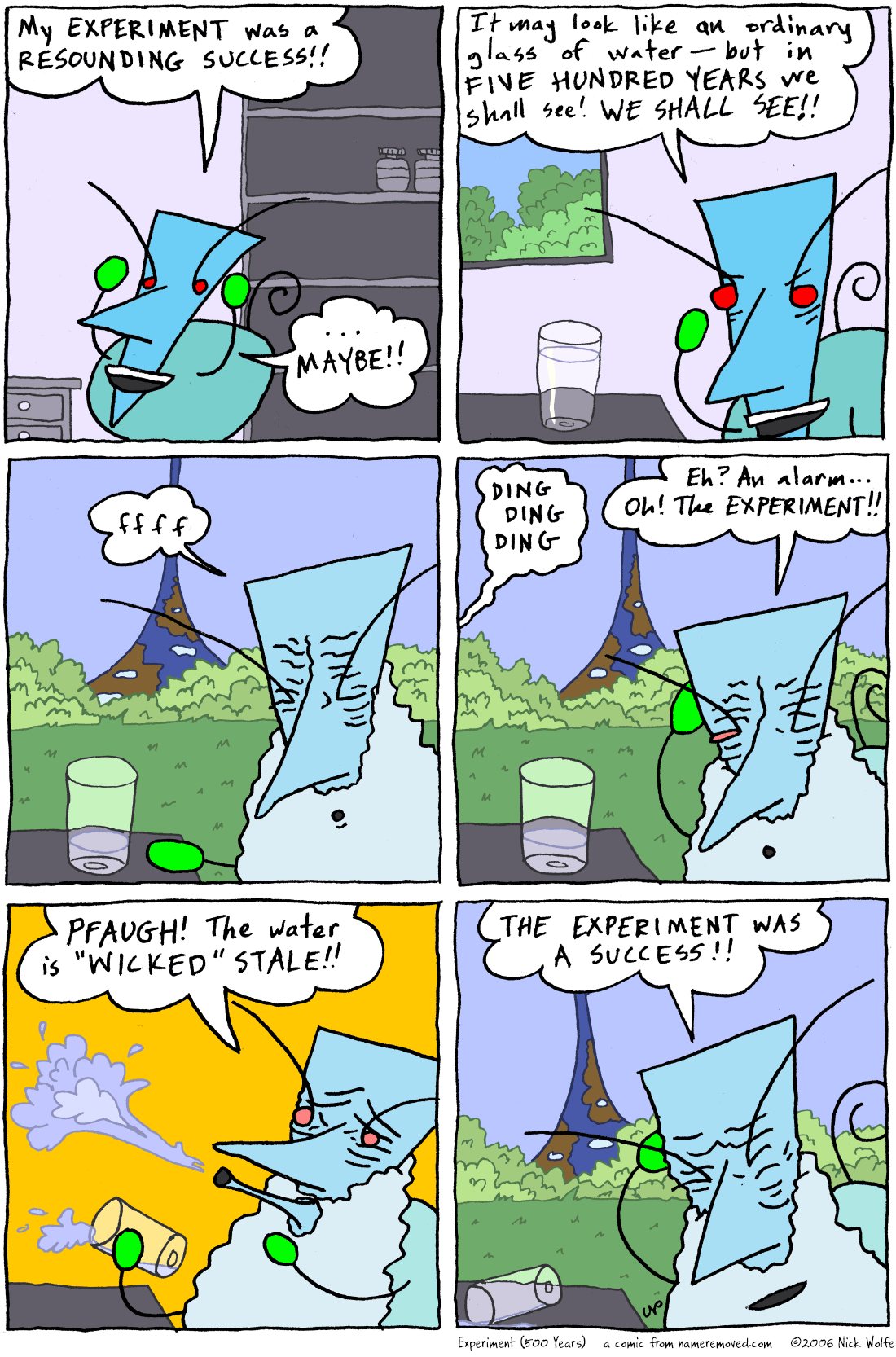 Experiment (500 Years)