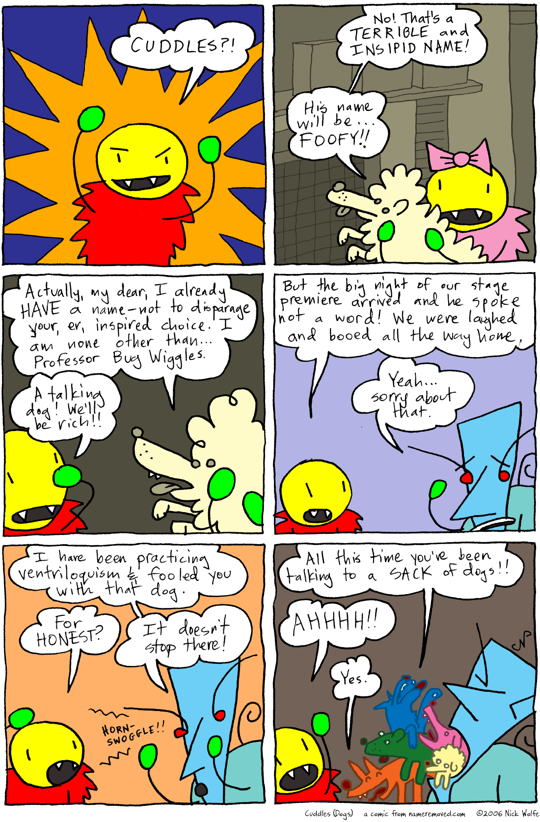 Cuddles (Dogs)