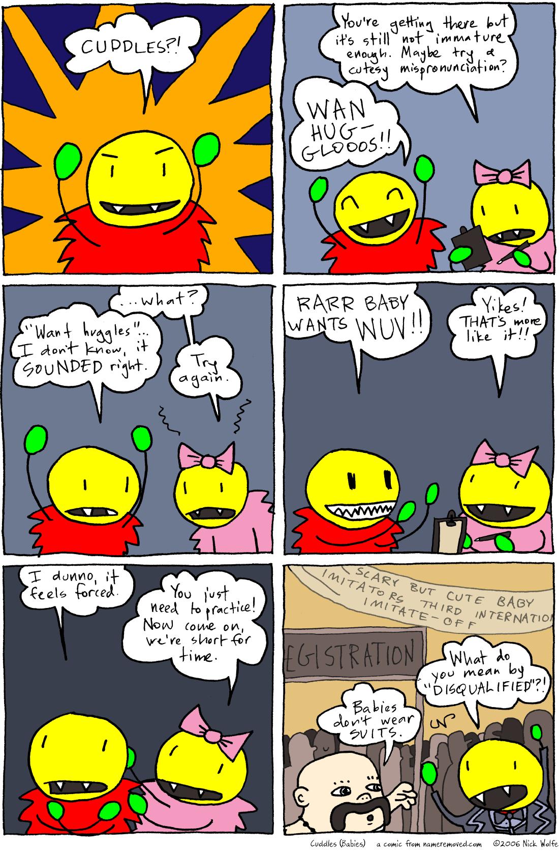 Cuddles (Babies)