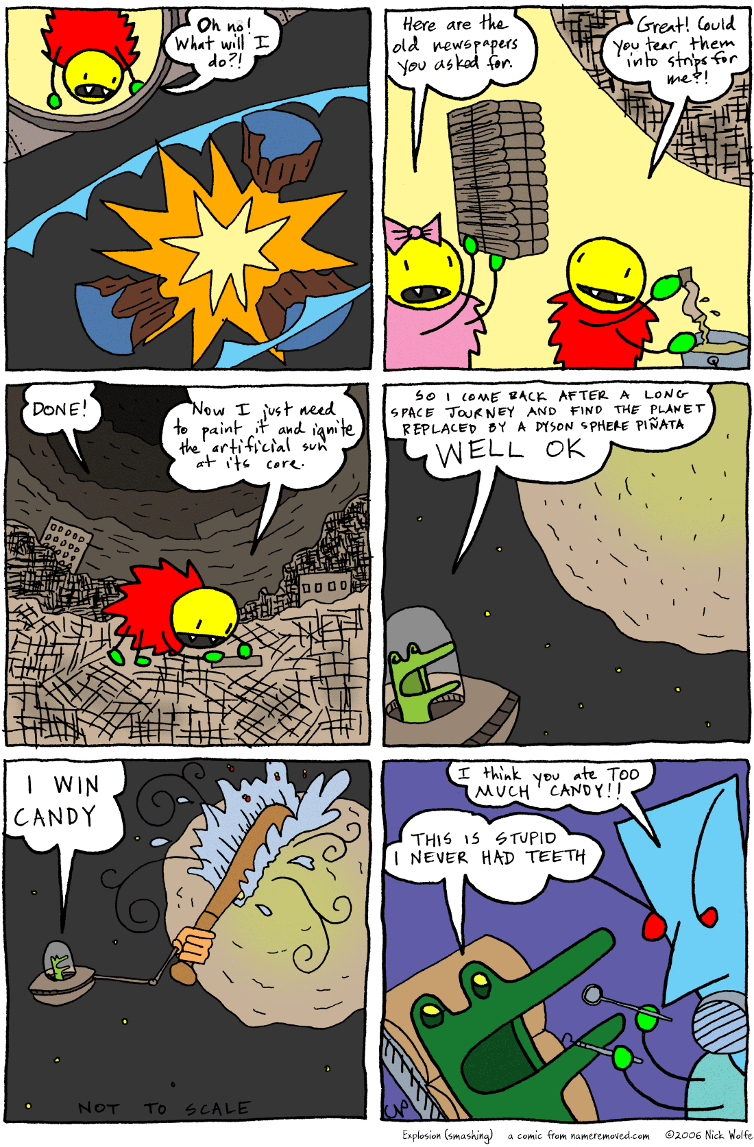 Explosion (smashing)