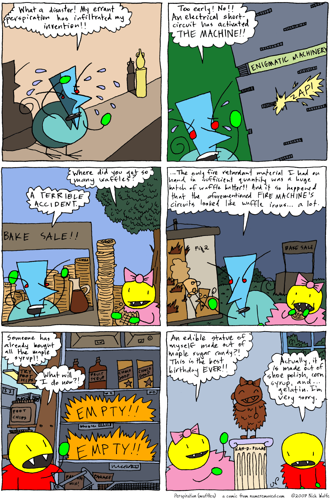 Perspiration (waffles)