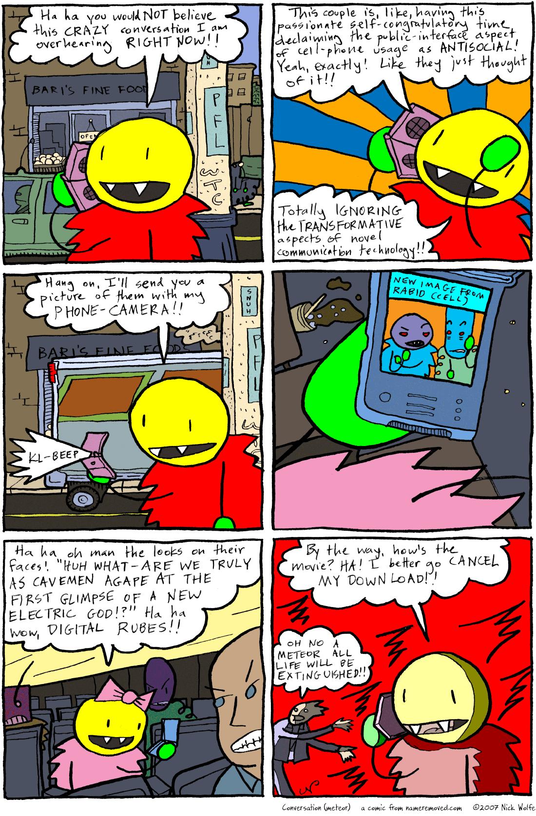 Conversation (meteor)