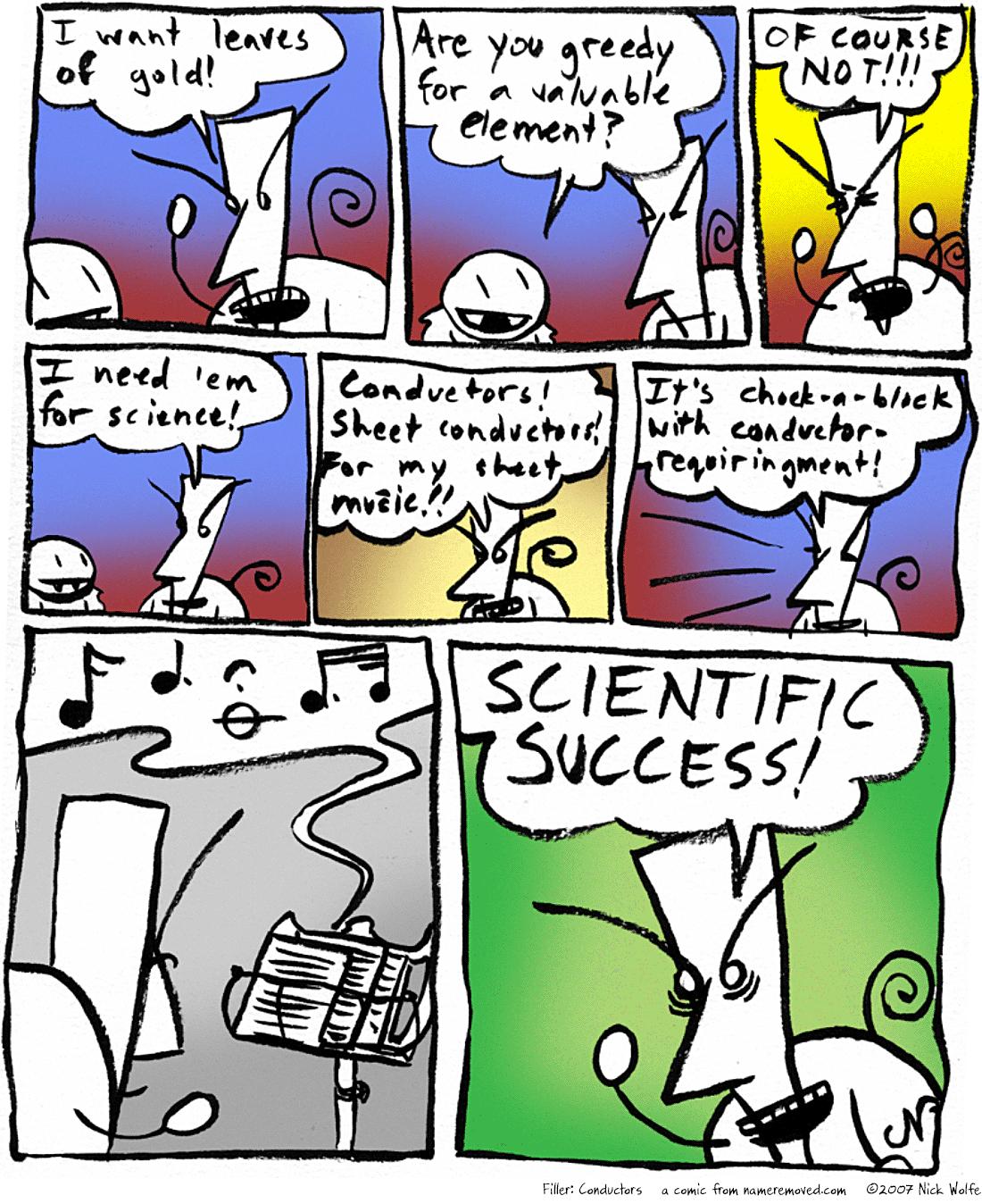 Filler: Conductors