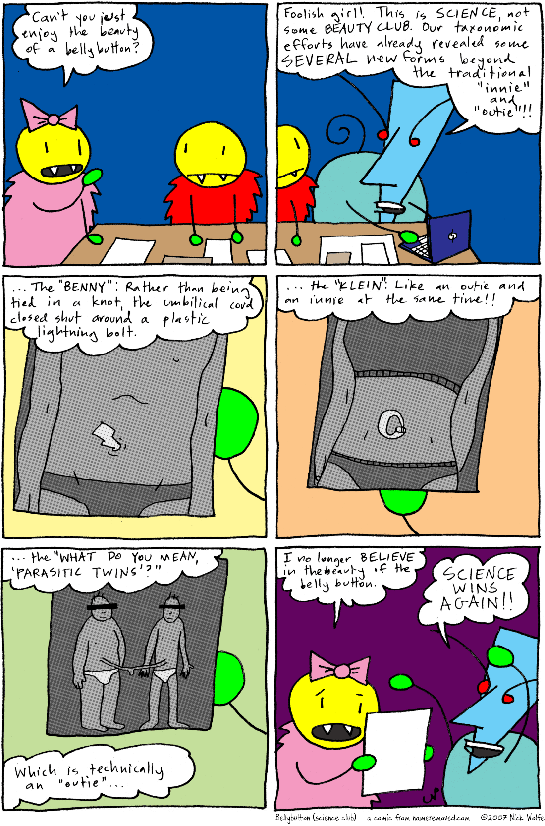 Bellybutton (science club)