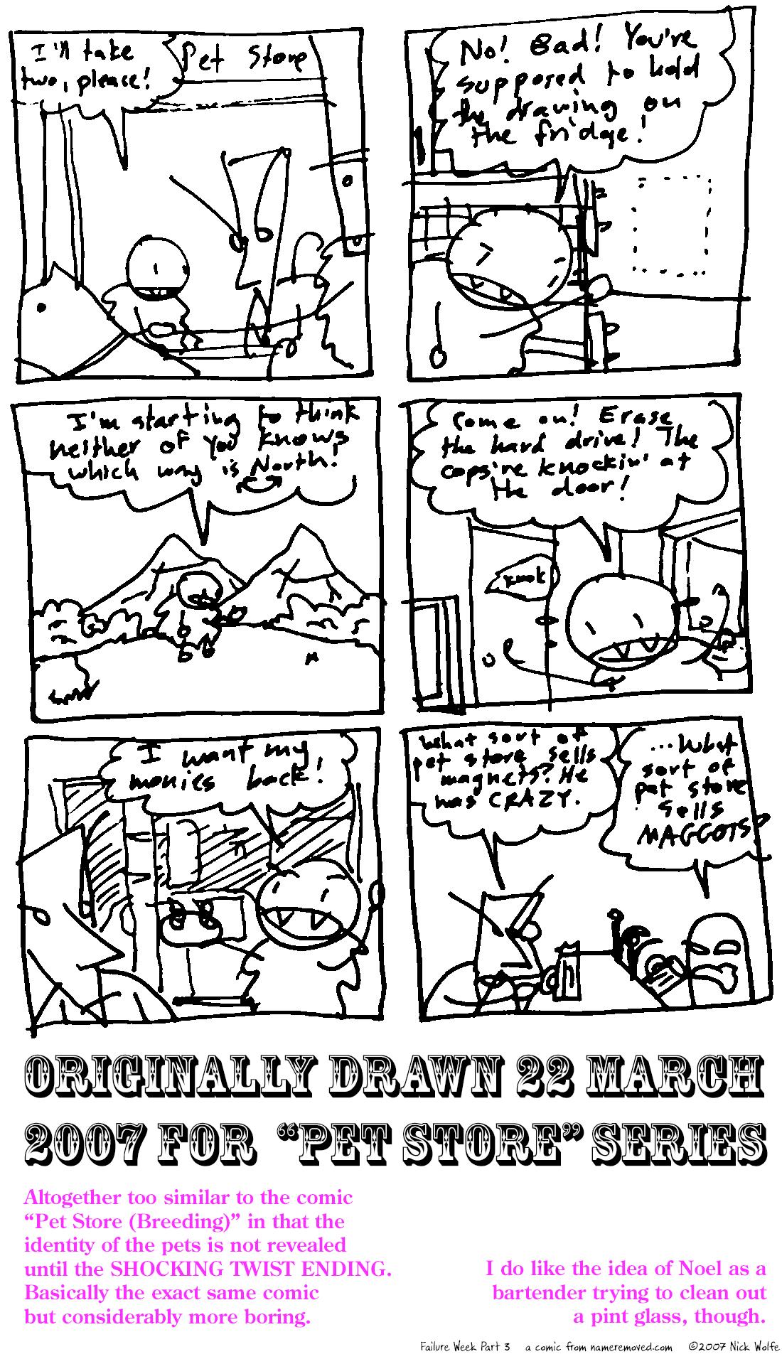 Failure Week Part Three