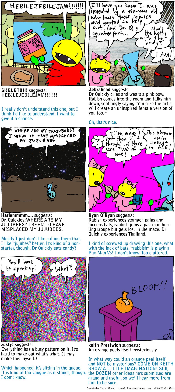 Non-Starter Starter Panels