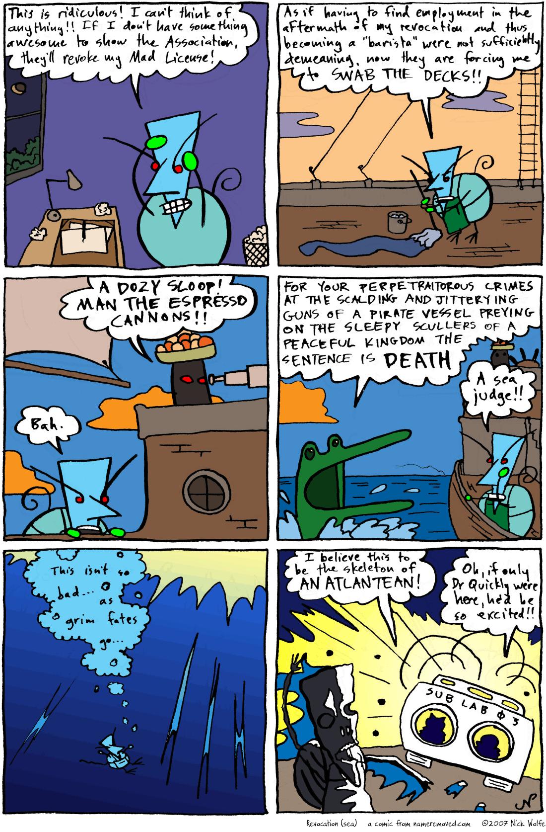 Revocation (sea)