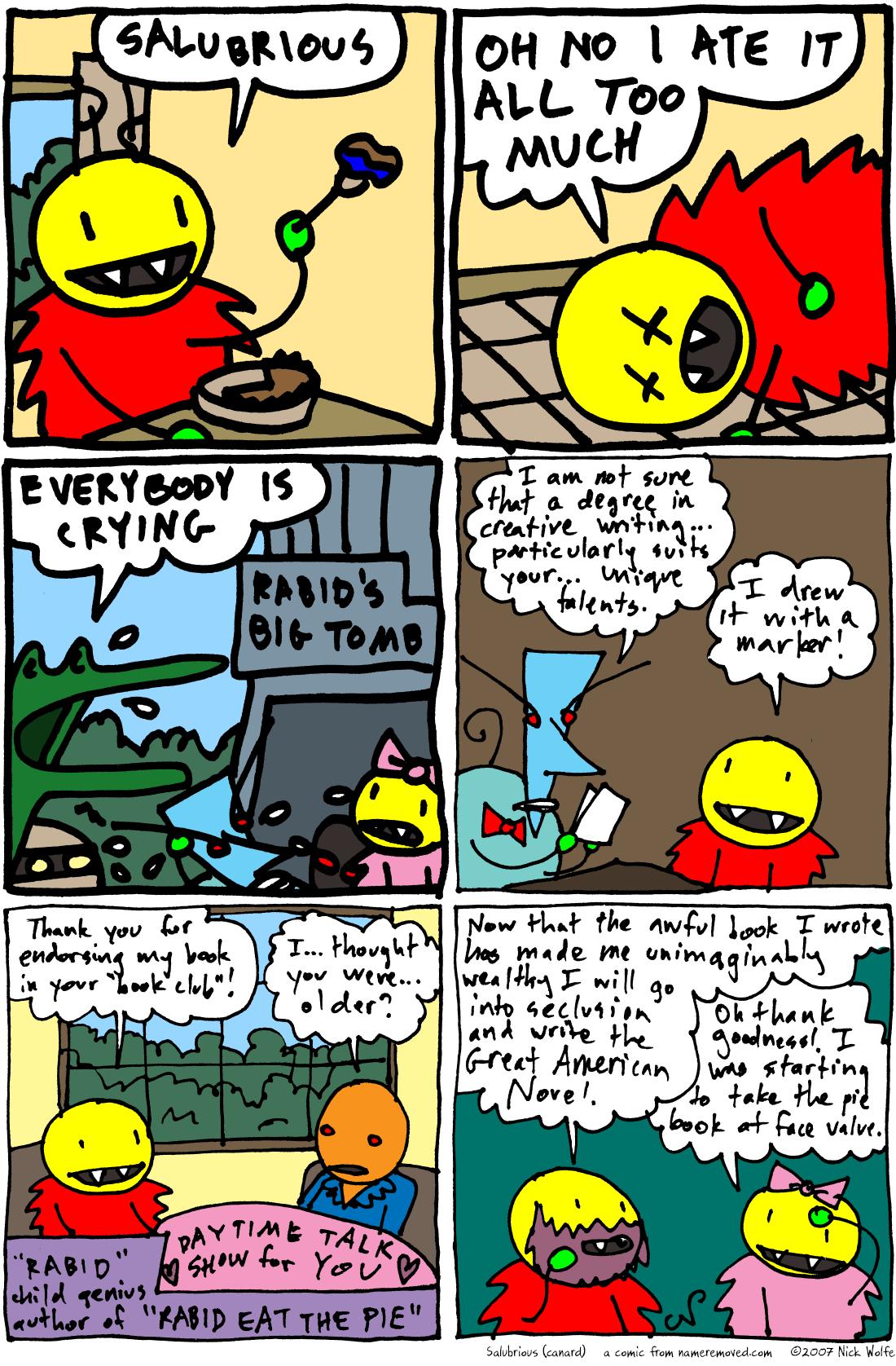 Salubrious (canard)