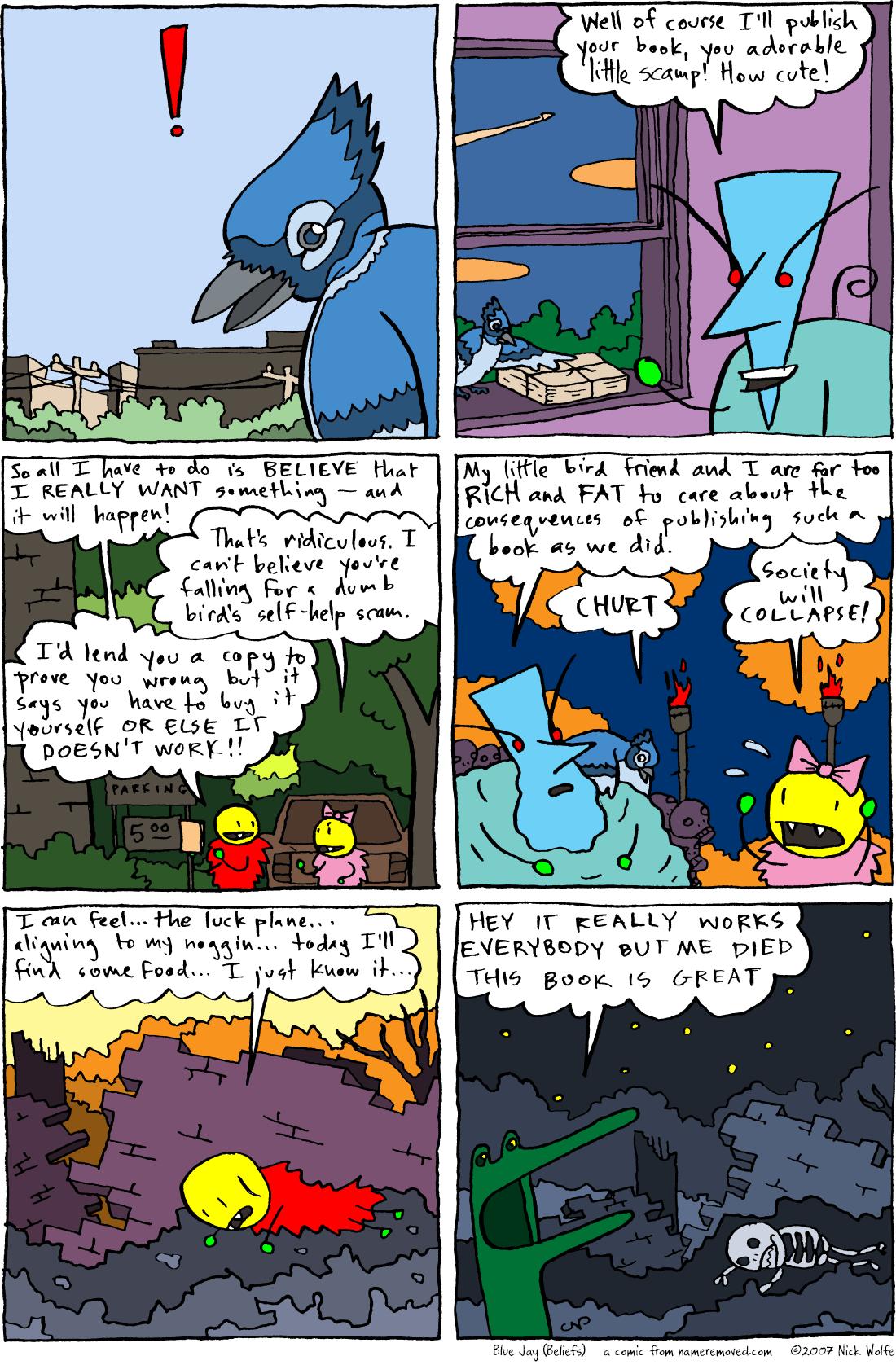 Blue Jay (Beliefs)