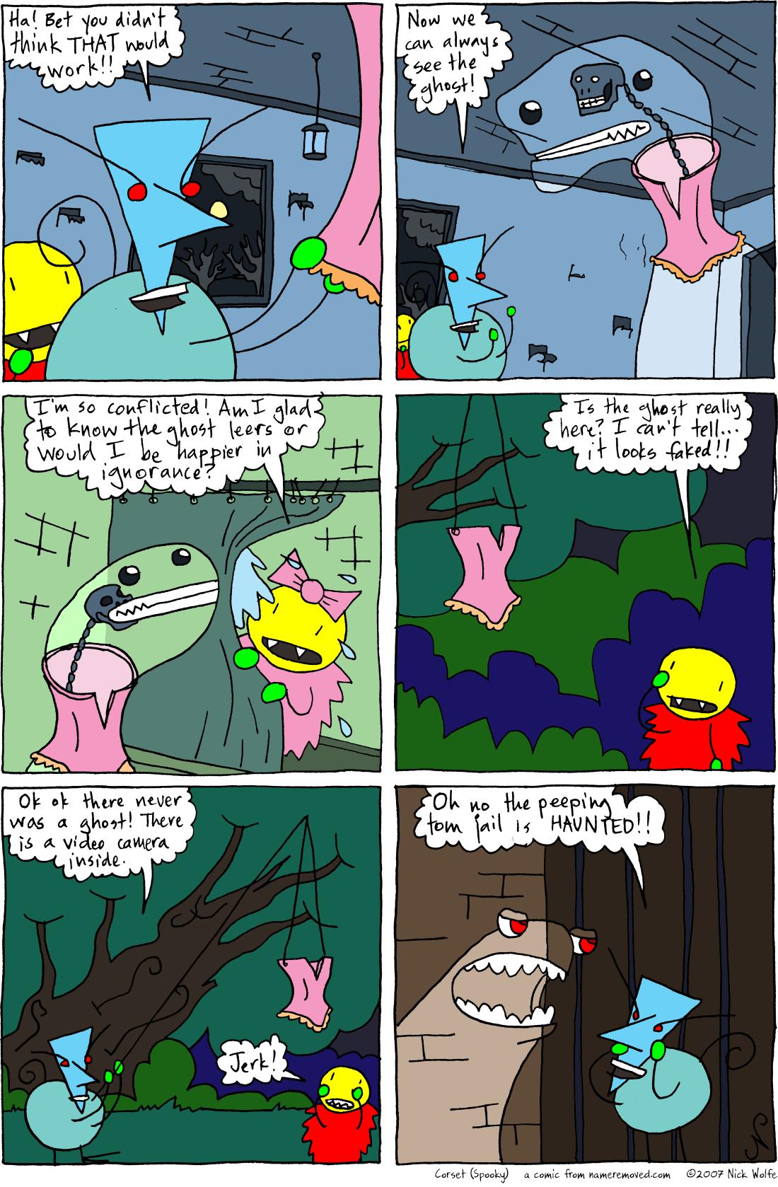 Corset (Spooky)