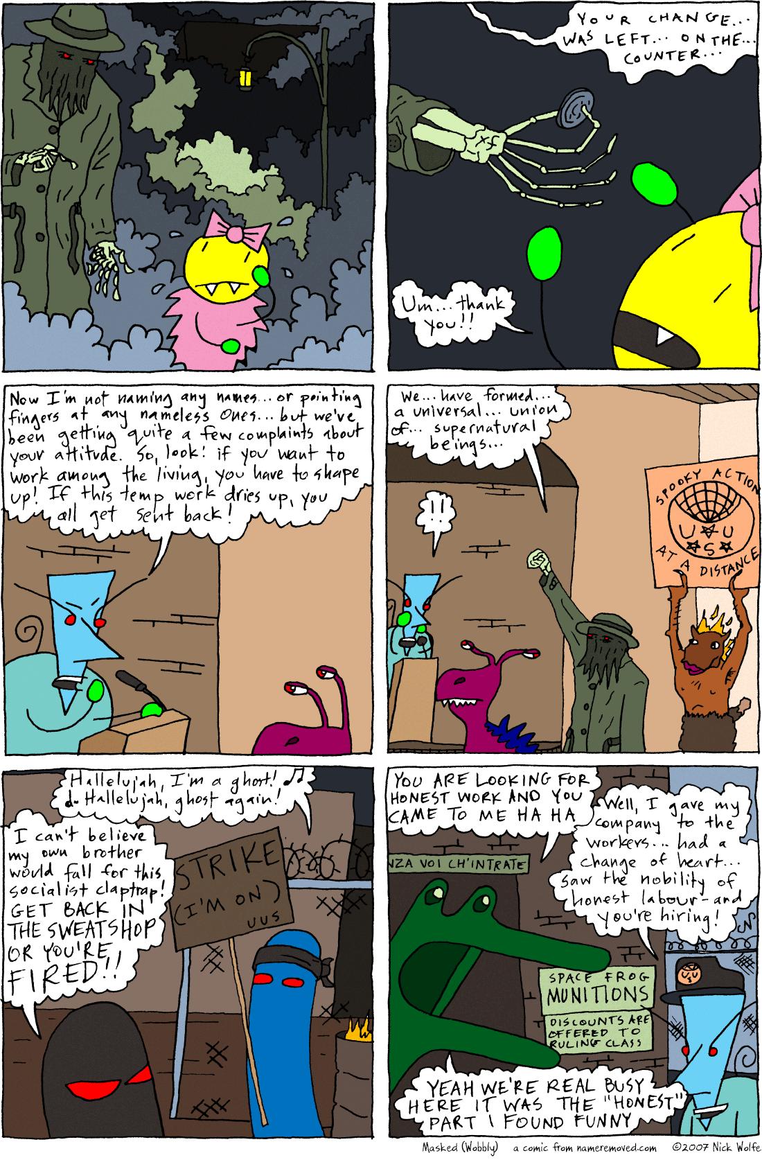 Masked (Wobbly)