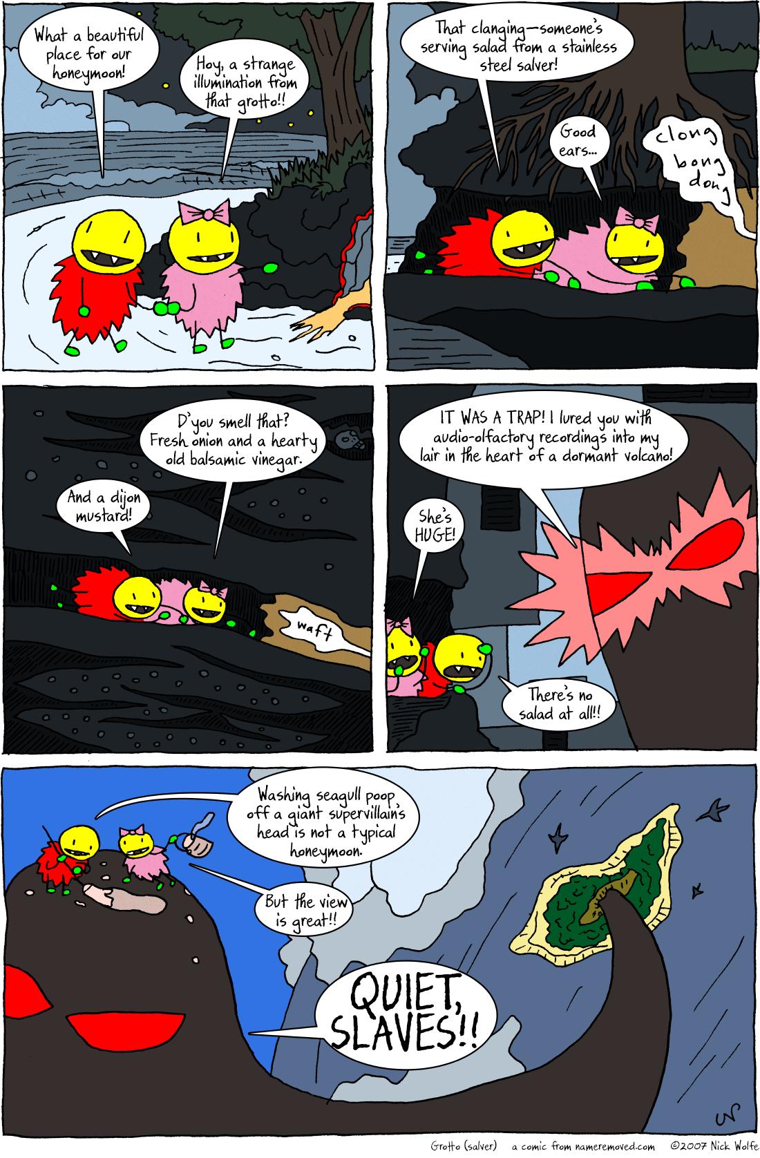 Grotto (salver)