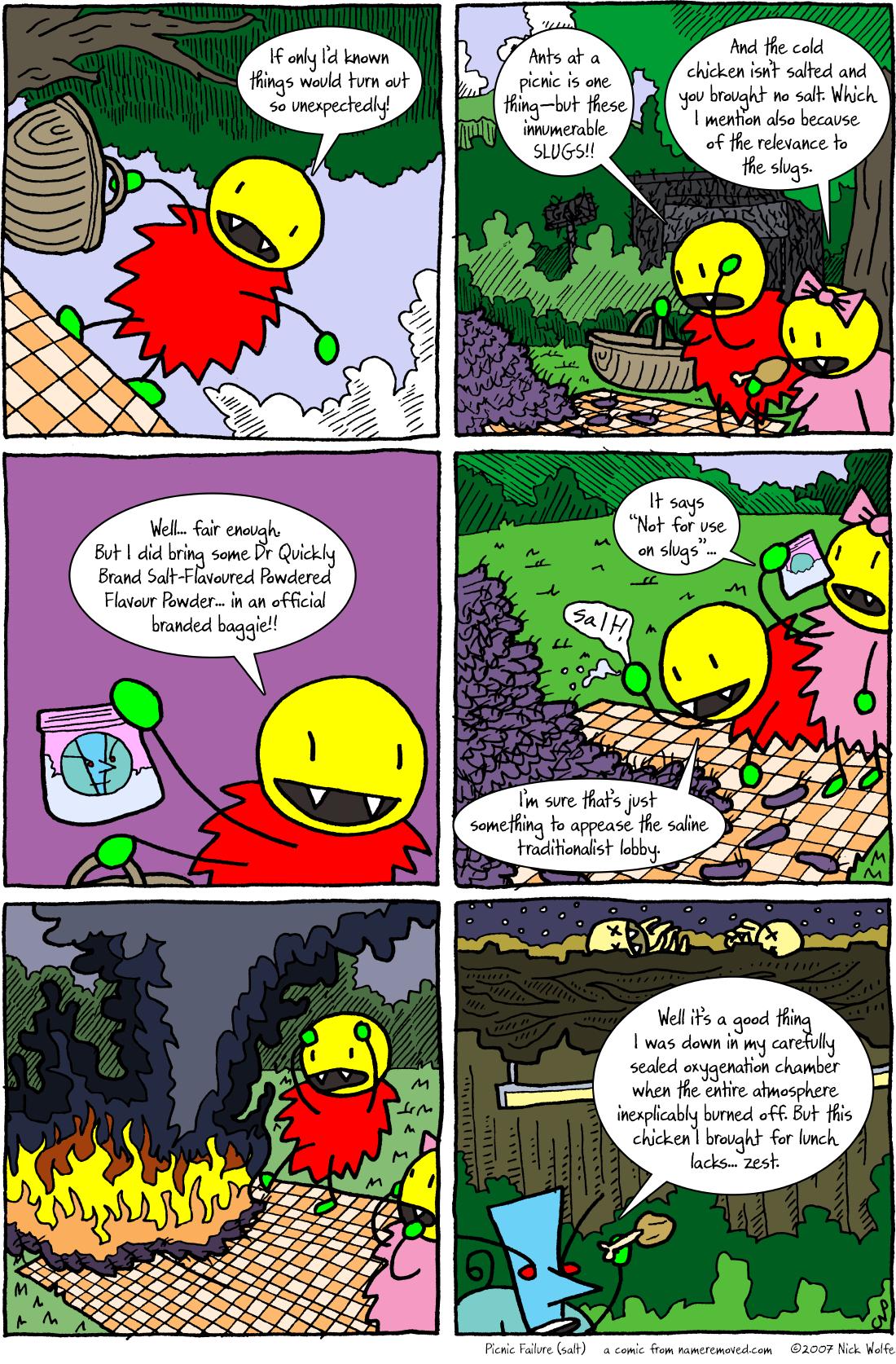 Picnic Failure (salt)