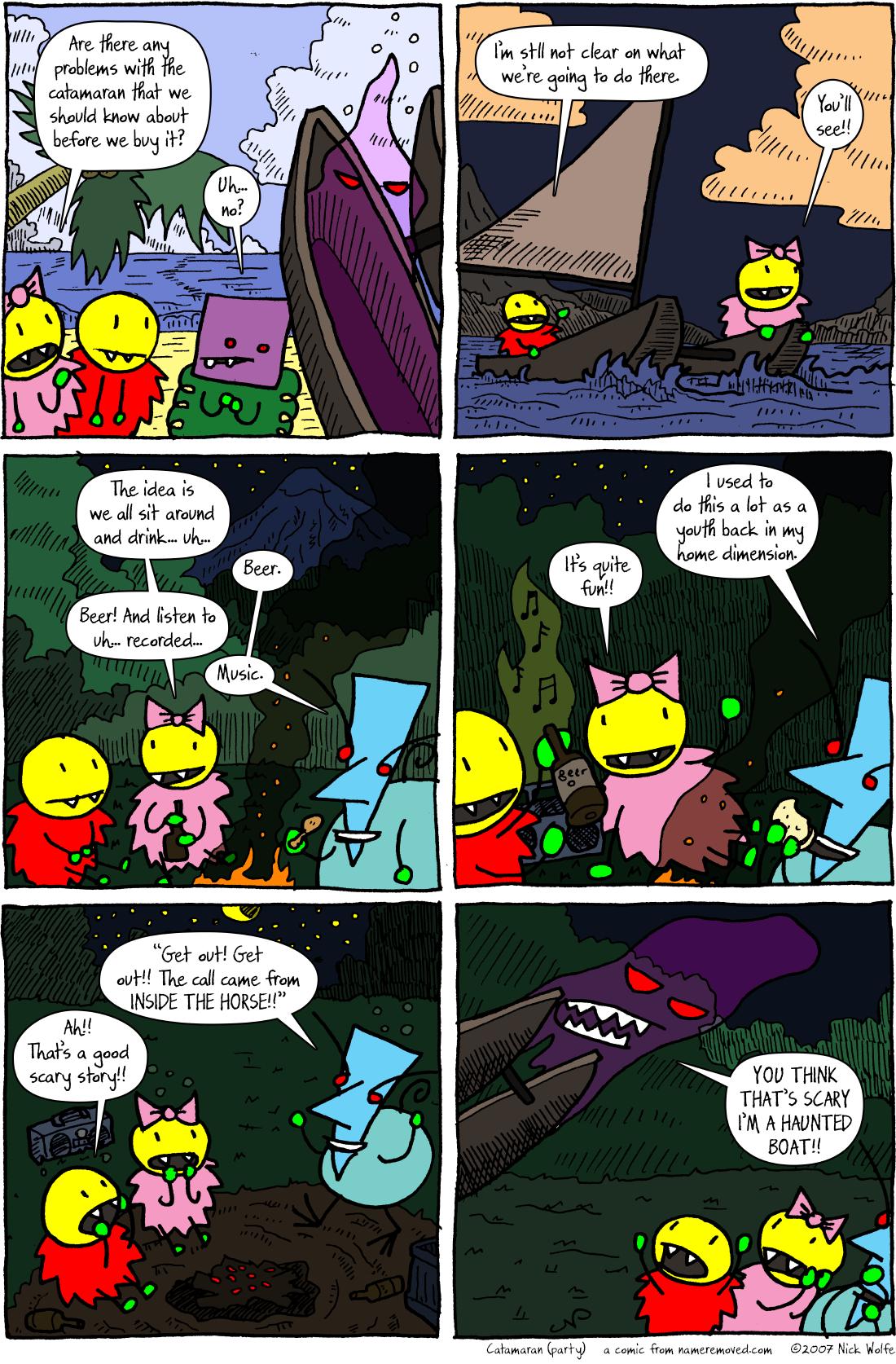 Catamaran (party)