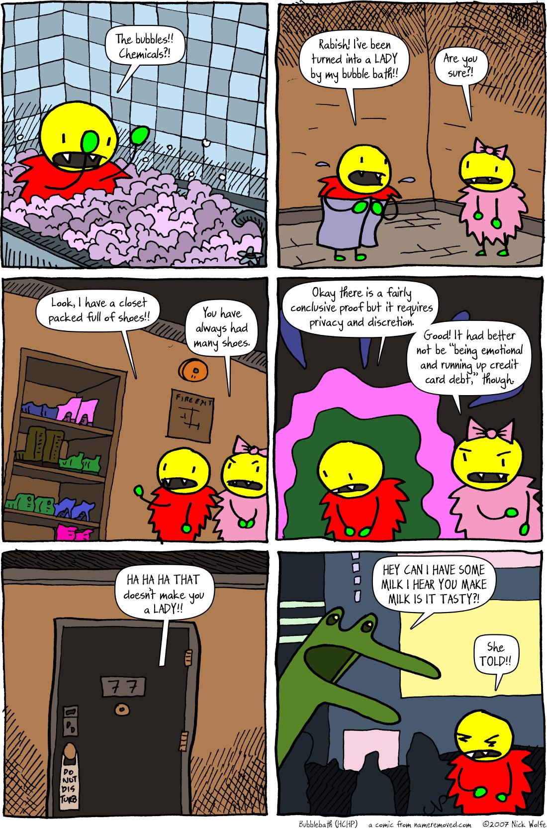 Bubblebath (HCHP)