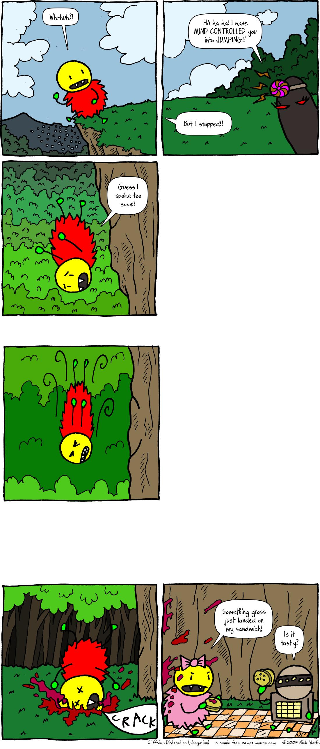 Cliffside Distraction (elongation)