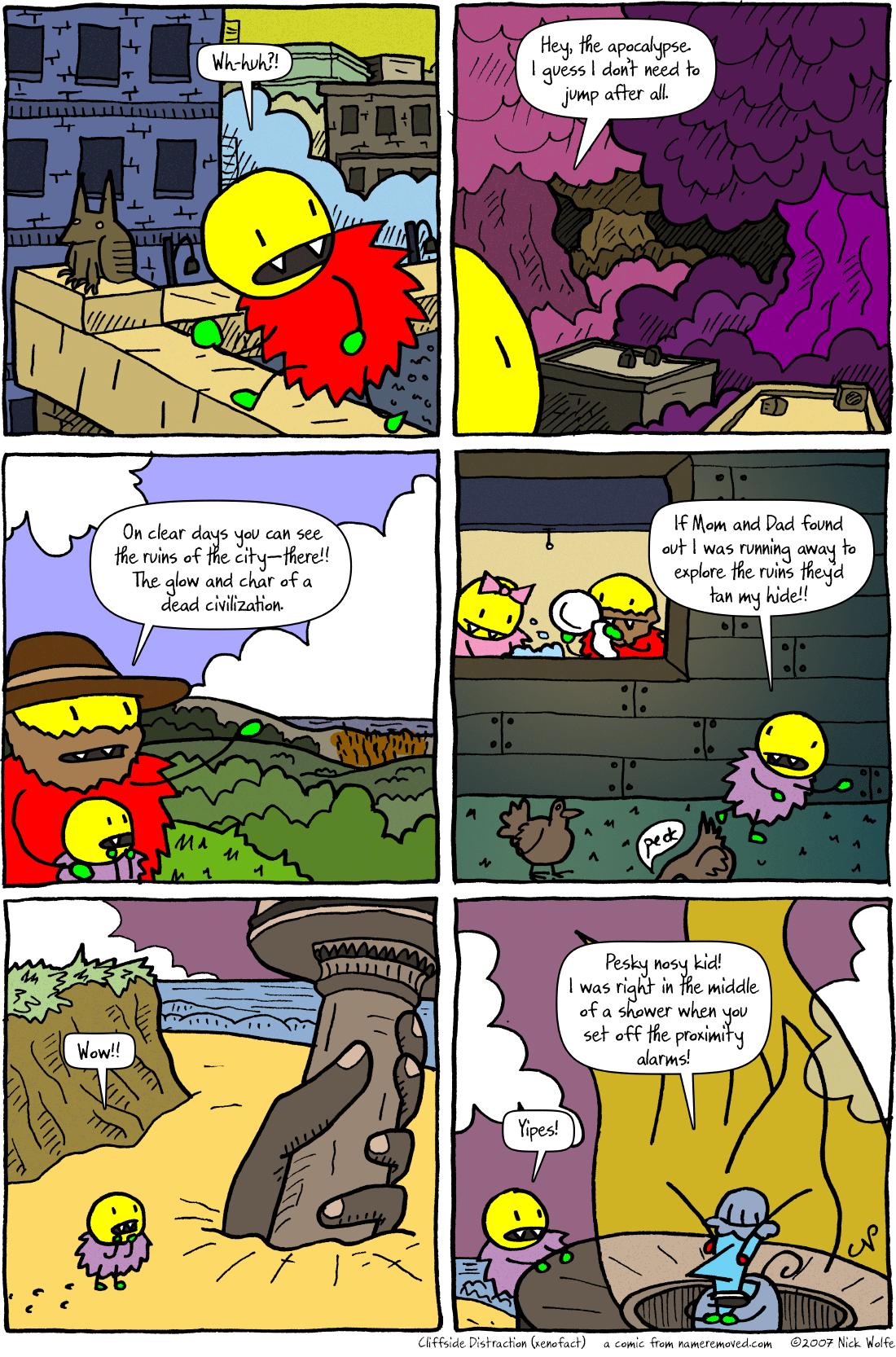 Cliffside Distraction (xenofact)