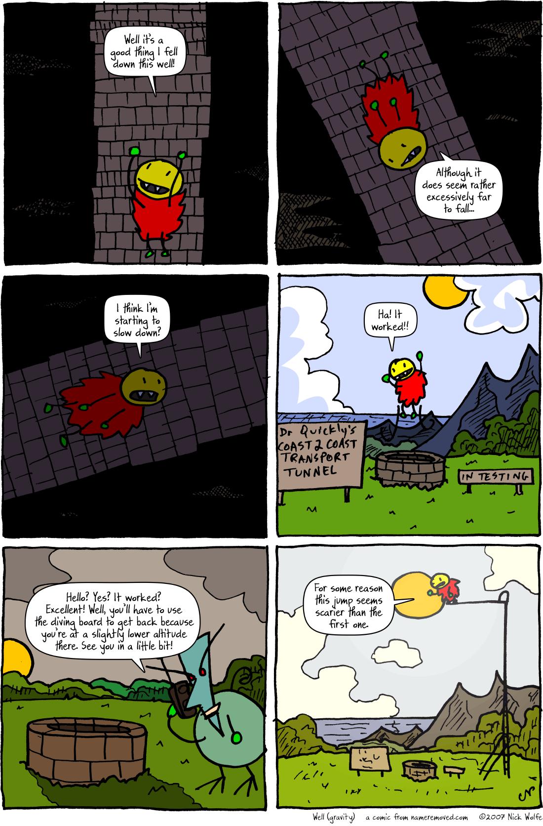 Well (gravity)