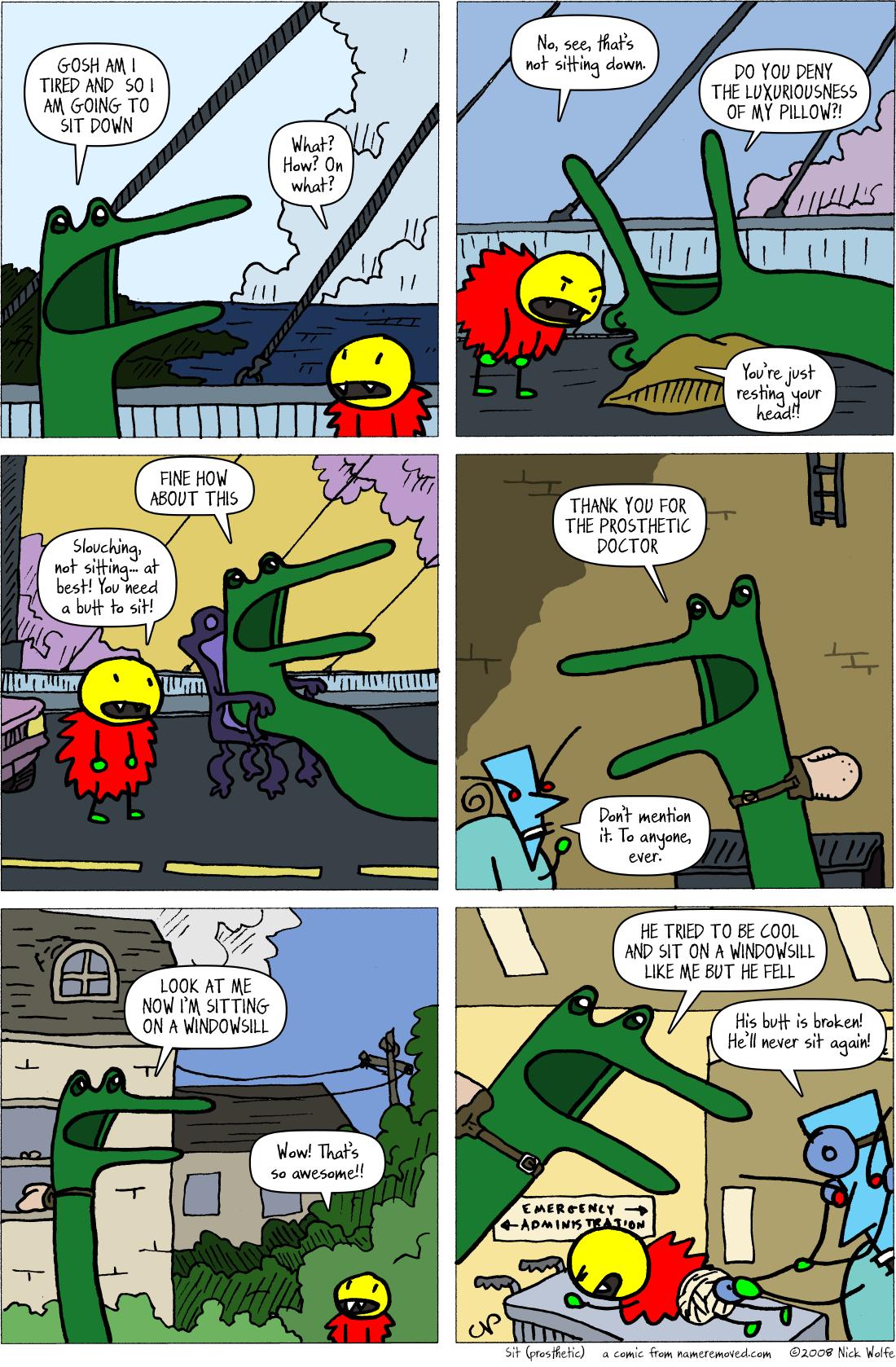 Sit (prosthetic)