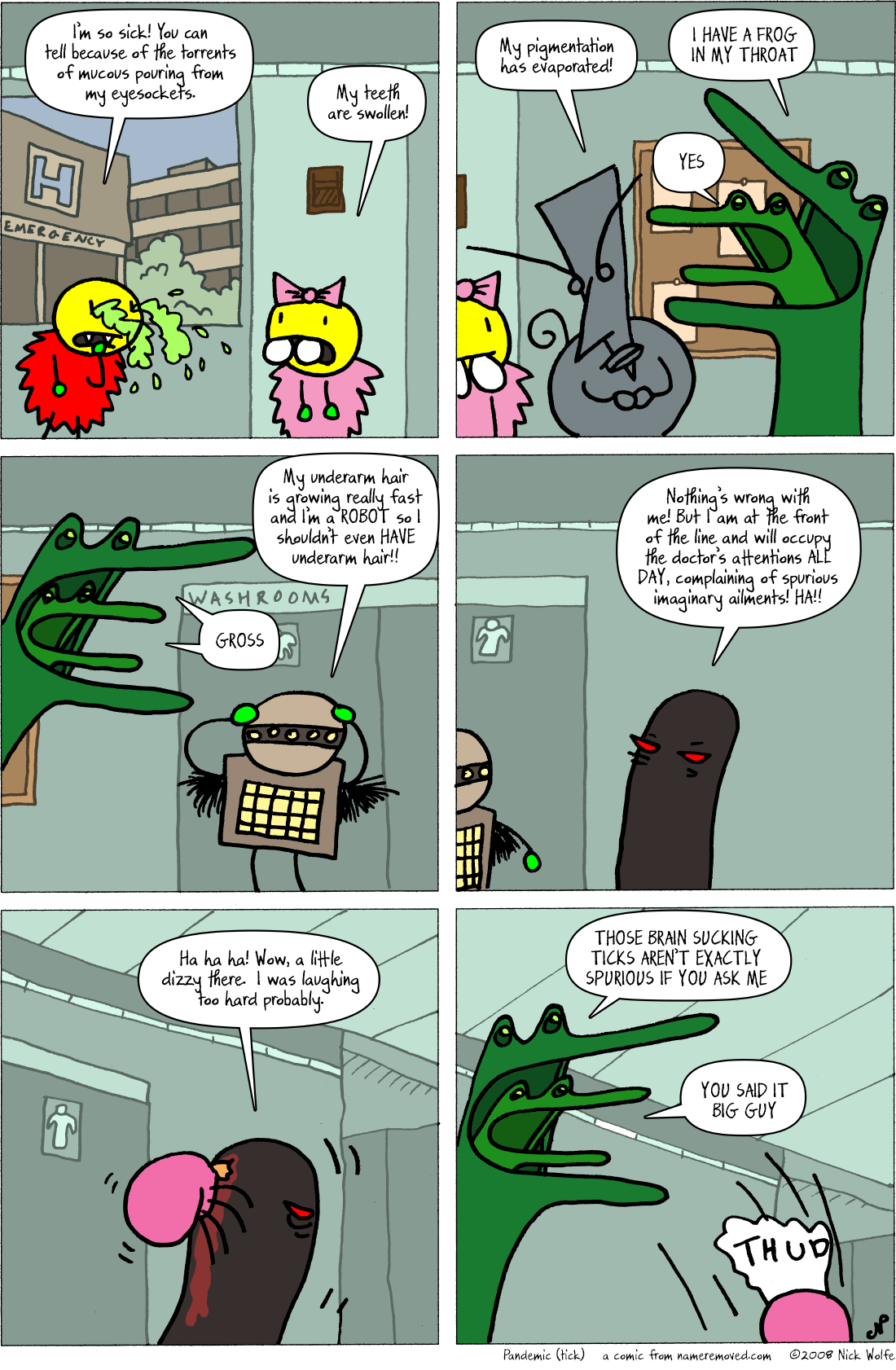Pandemic (tick)
