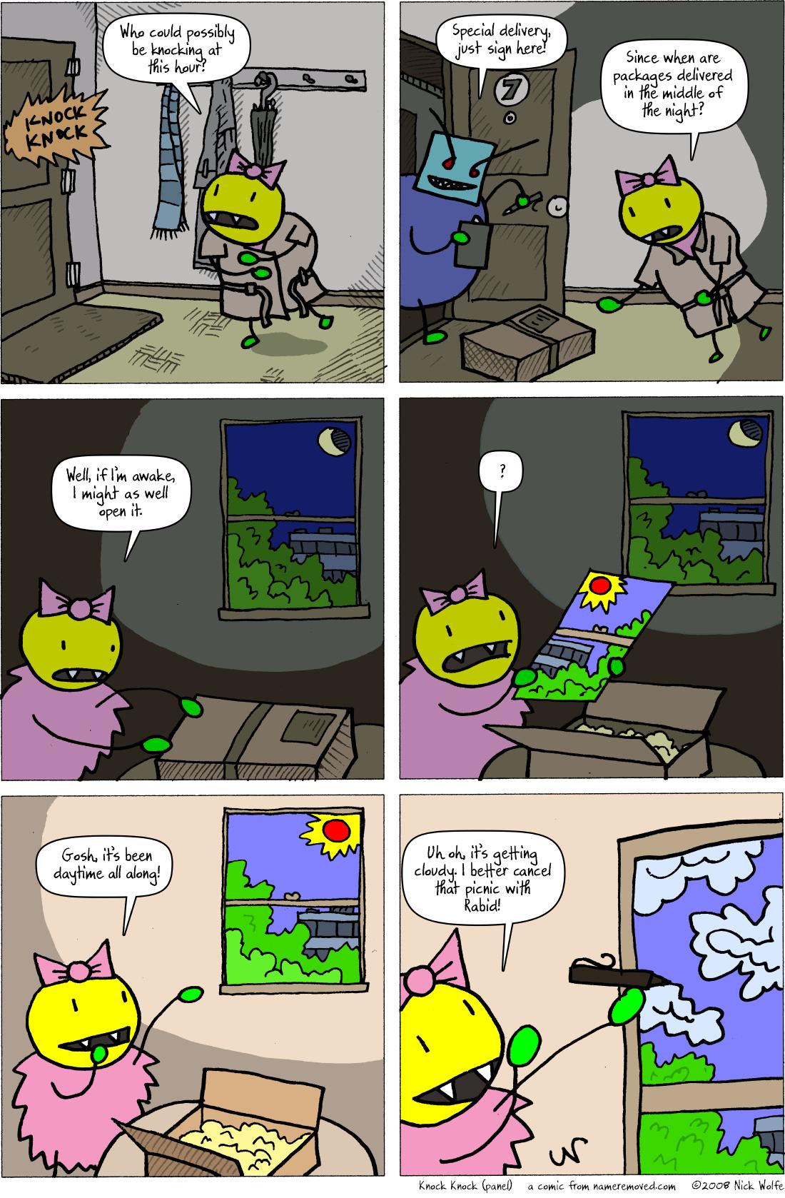 Knock Knock (panel)