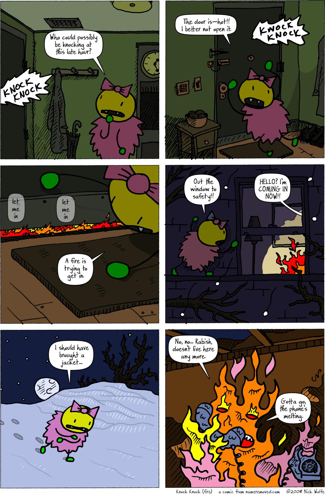 Knock Knock (fire)