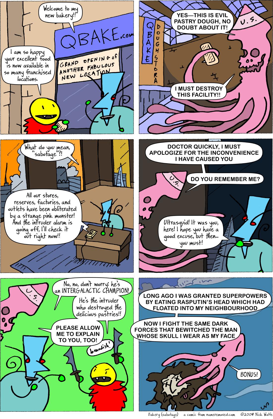 Bakery (sabotage)