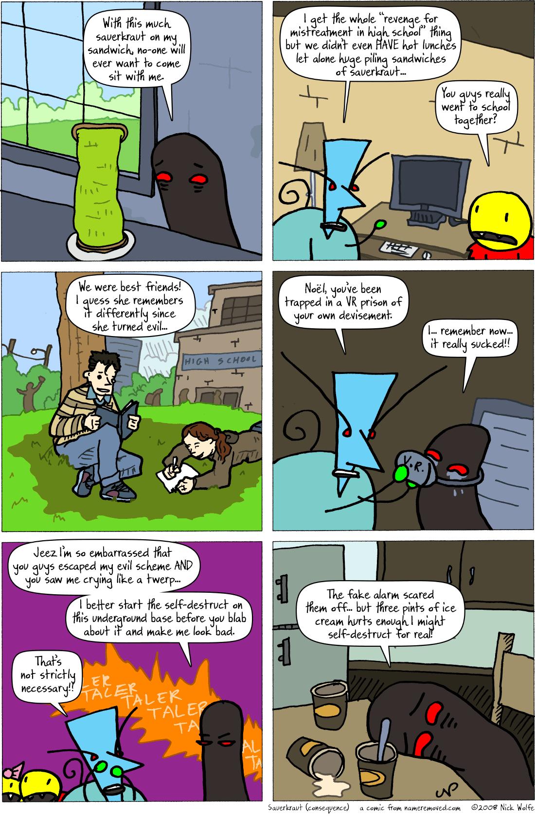 Sauerkraut (consequence)