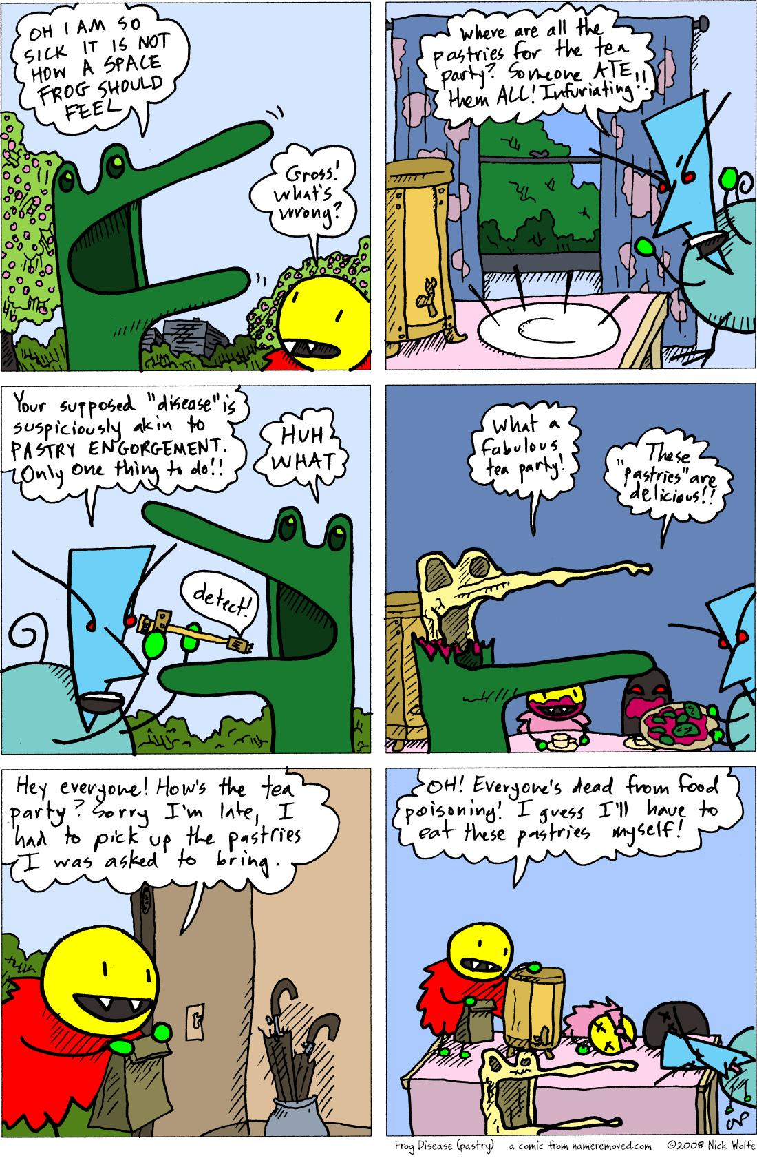 Frog Disease (pastry)