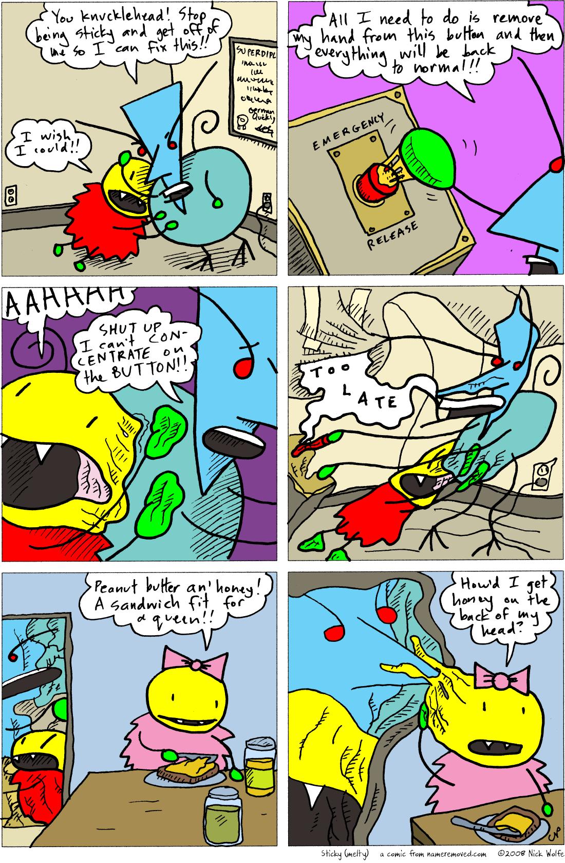Sticky (melty)