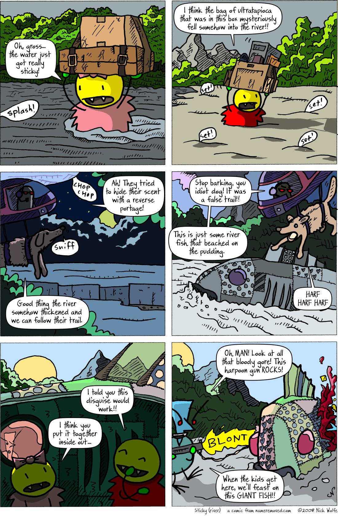 Sticky (river)