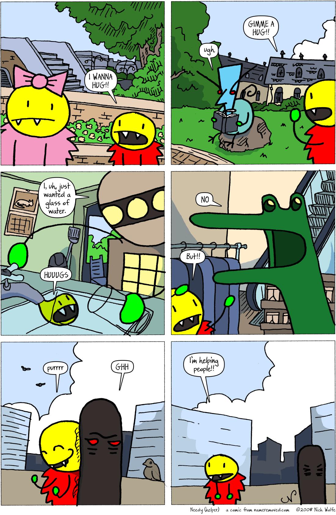 Needy (helper)