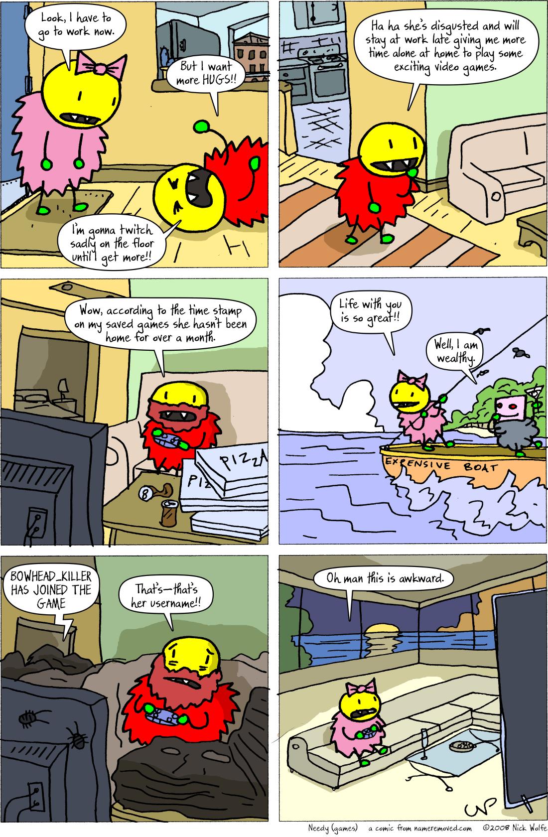 Needy (games)