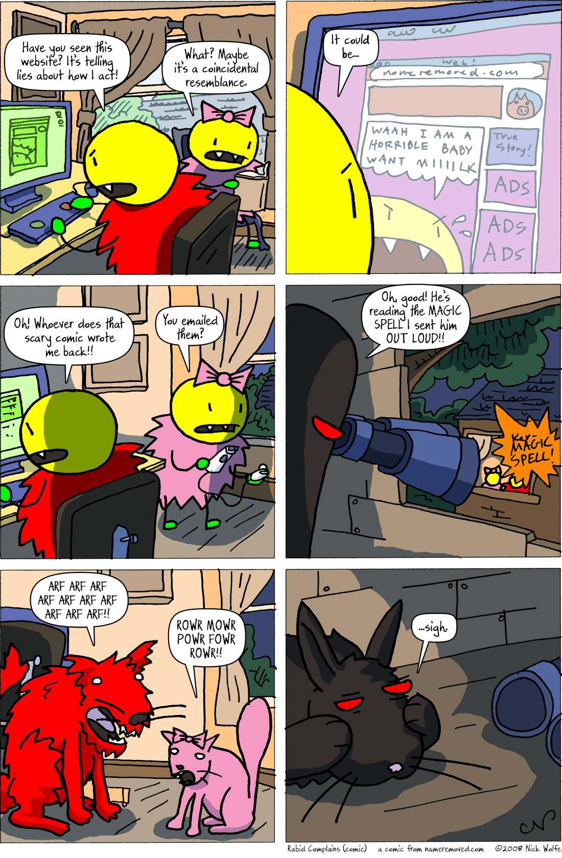 Rabid Complains (comic)