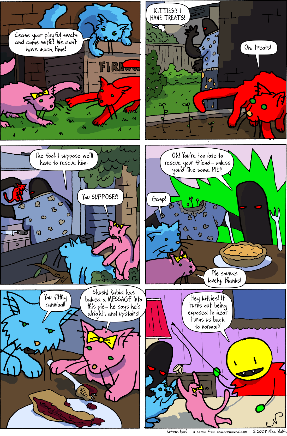 Kittens (pie)