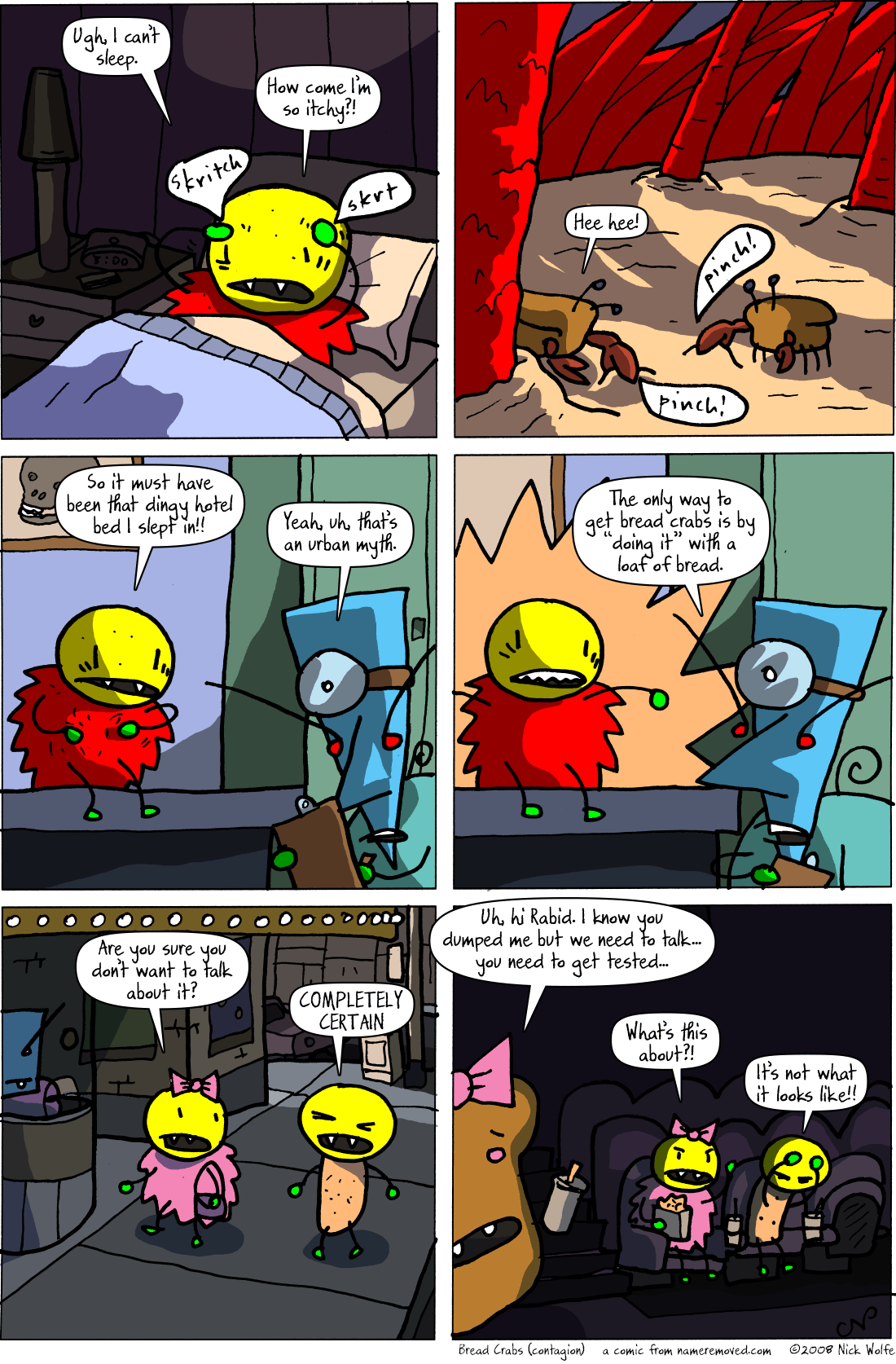 Bread Crabs (contagion)