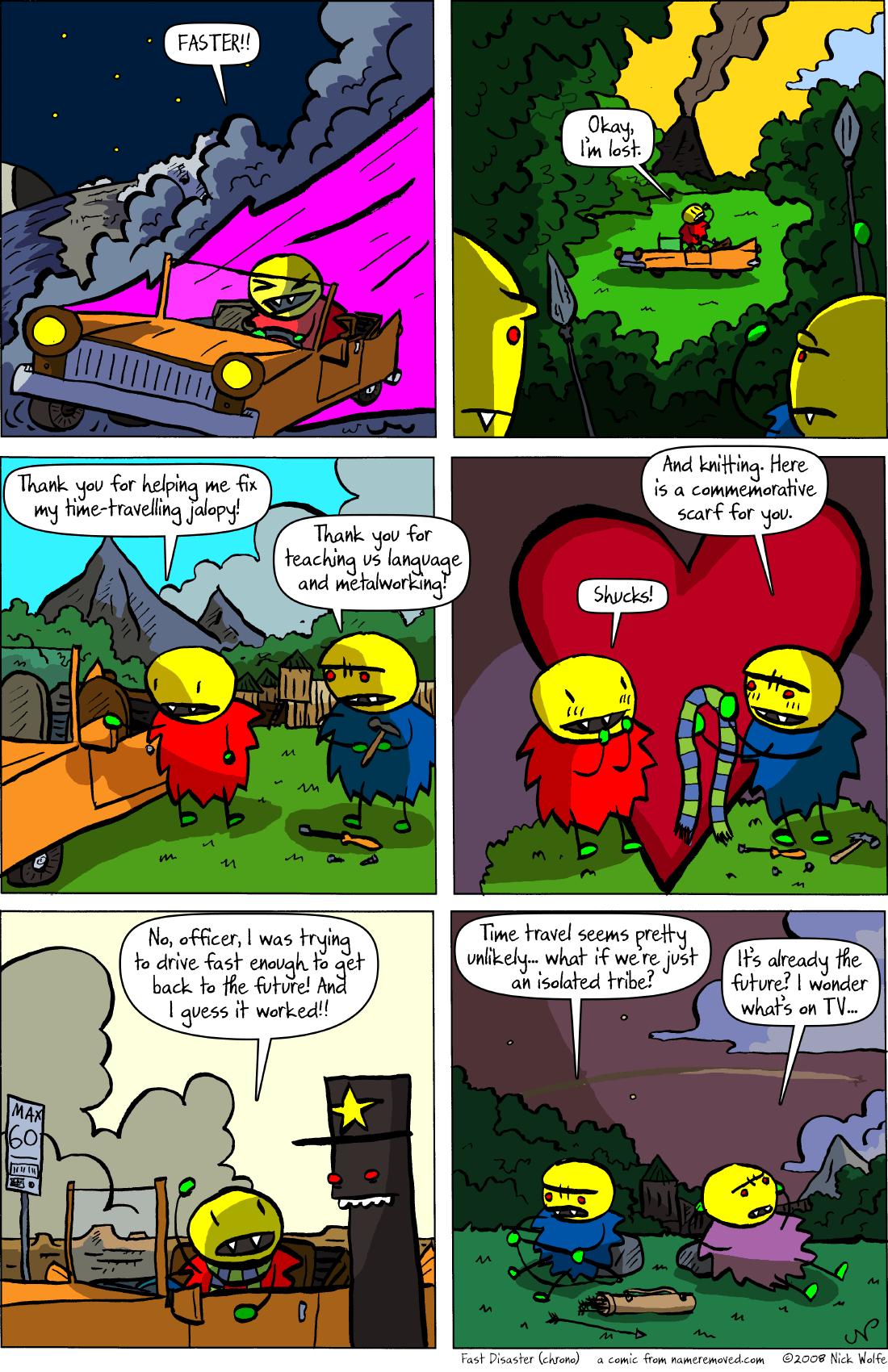 Fast Disaster (chrono)