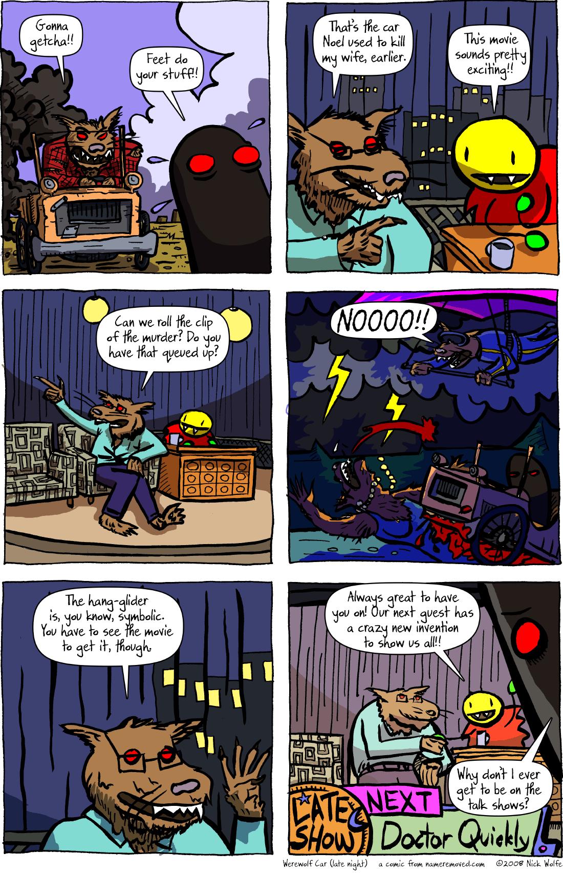 Werewolf Car (late night)