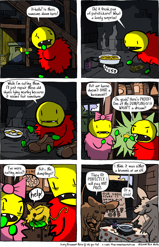Comic for 2008-10-08