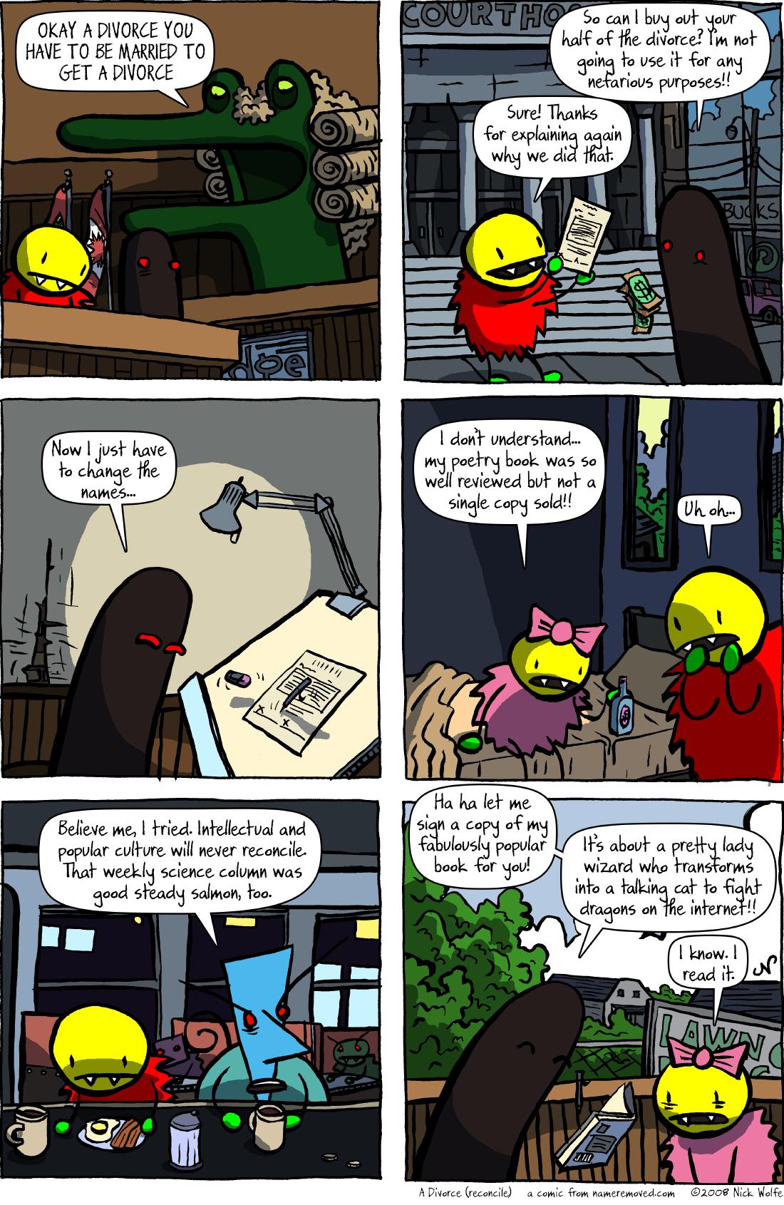 A Divorce (reconcile)