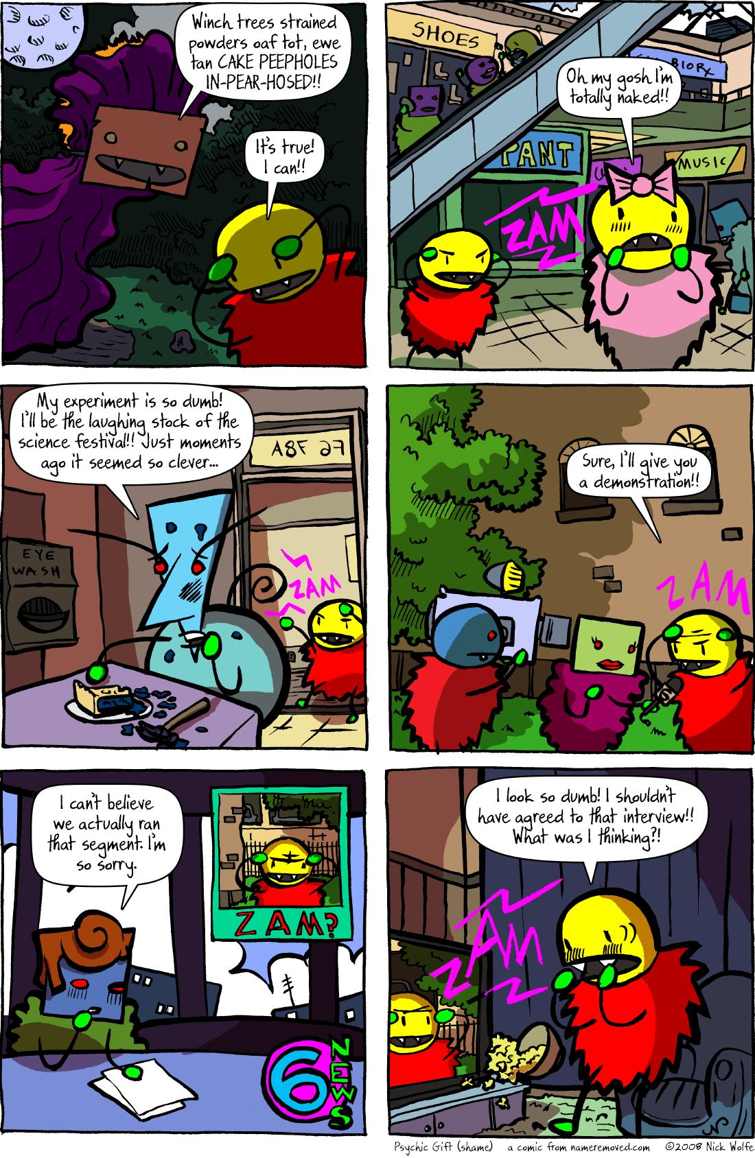 Psychic Gift (shame)