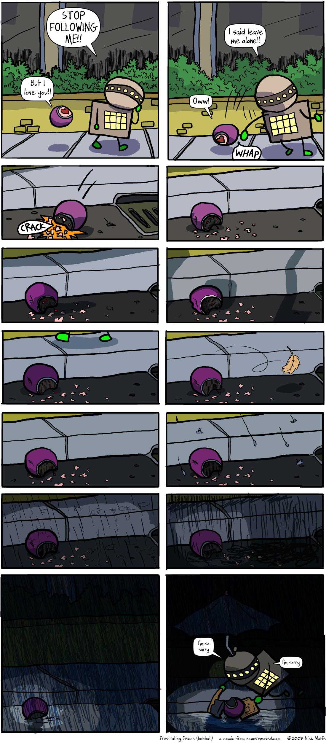 Frustrating Device (lovebot)